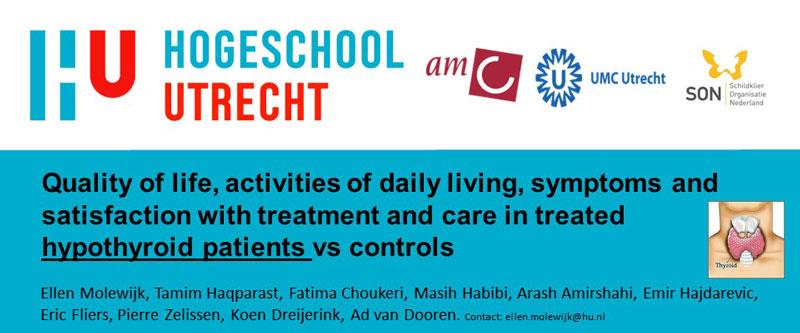 Voorlopige resultaten onderzoek Hogeschool Utrecht